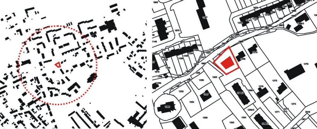 Models for architecture of contemporary medium-density mixed
